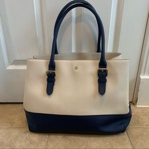KATE SPADE Cove Street  Pebble& French Navy Tote